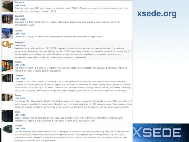 xsede.org