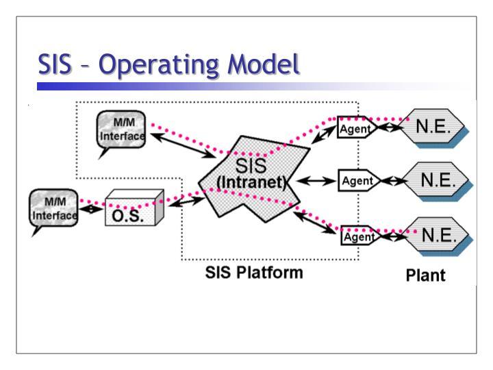 SIS – Operating Model