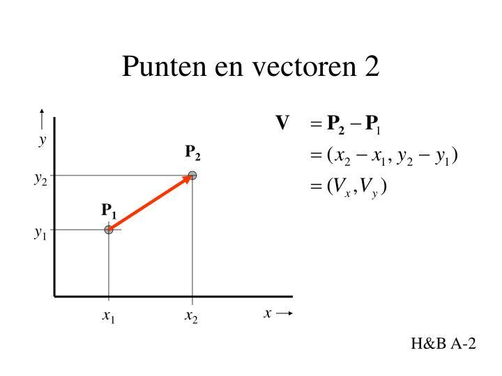Punten en vectoren 2