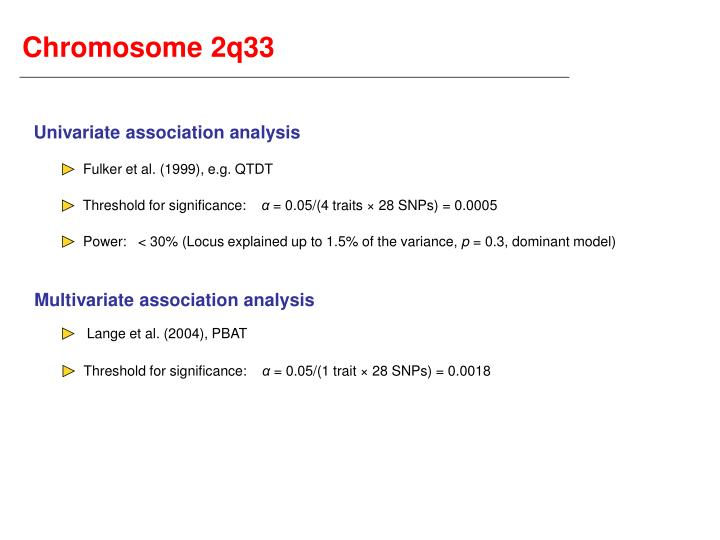 Chromosome 2q33