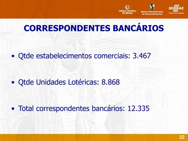 Qtde estabelecimentos comerciais: 3.467
