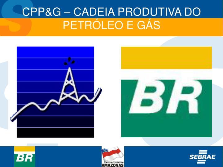 CPP&G – CADEIA PRODUTIVA DO PETRÓLEO E GÁS