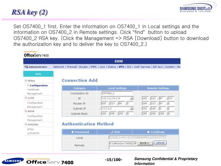 RSA key (2)