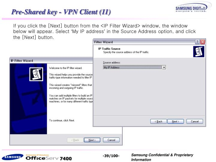 Pre-Shared key - VPN Client (11)