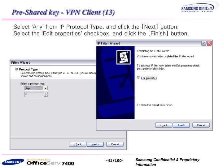 Pre-Shared key - VPN Client (13)