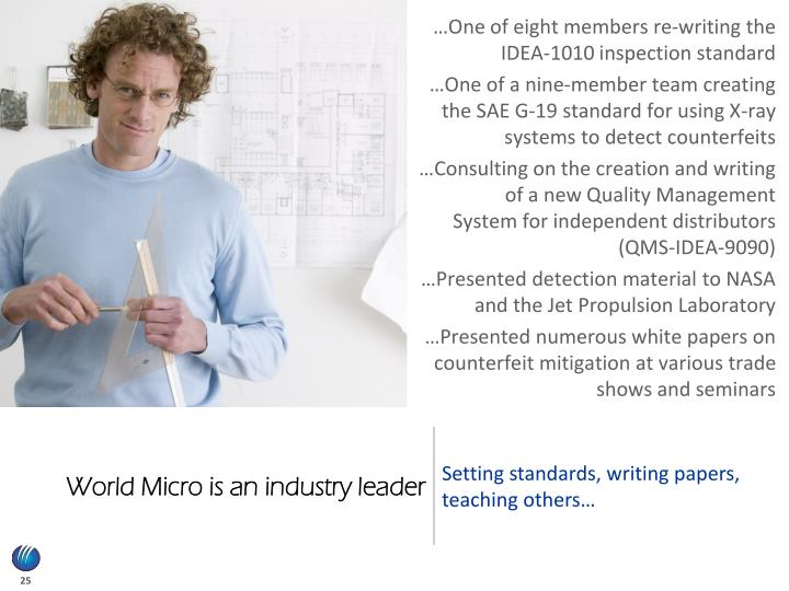 World Micro is an industry leader