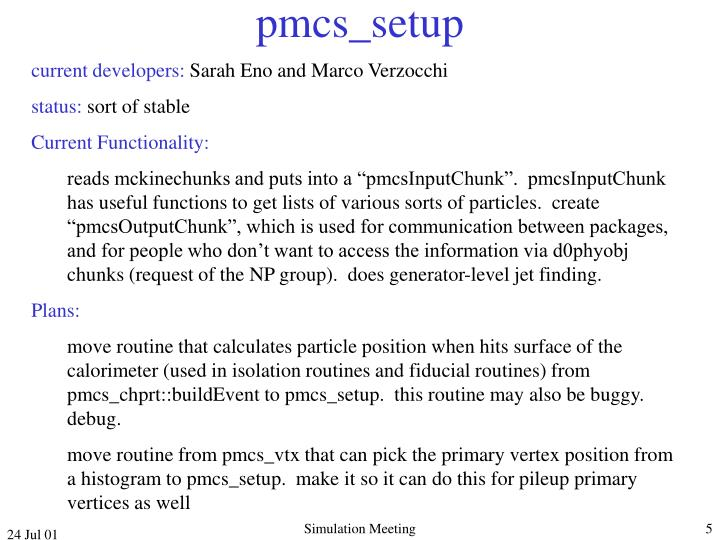 pmcs_setup