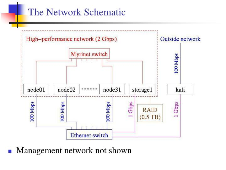 The Network Schematic