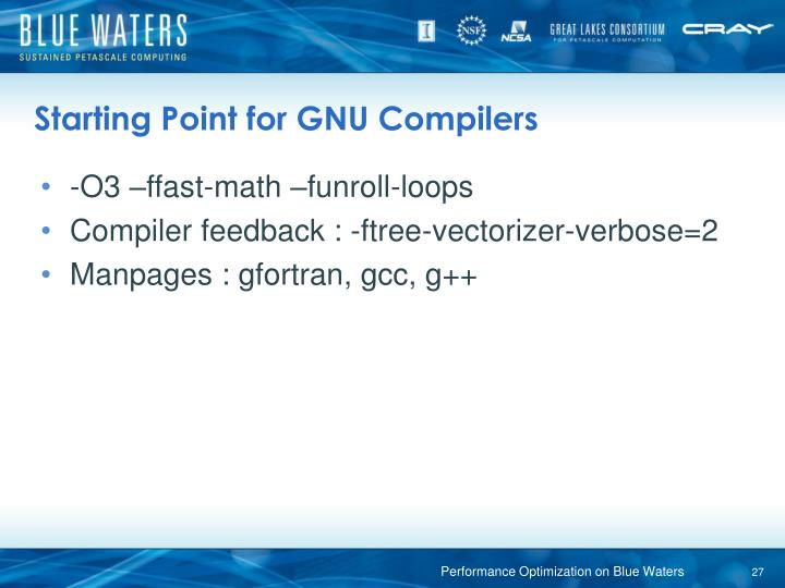 Starting Point for GNU Compilers