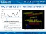 why my job run slow performance variation