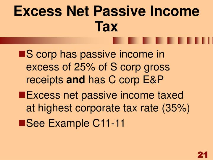 Excess Net Passive Income