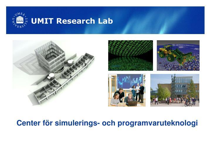 UMIT Research Lab