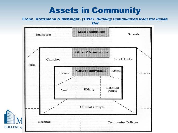 Assets in Community