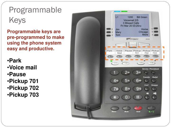 Programmable Keys