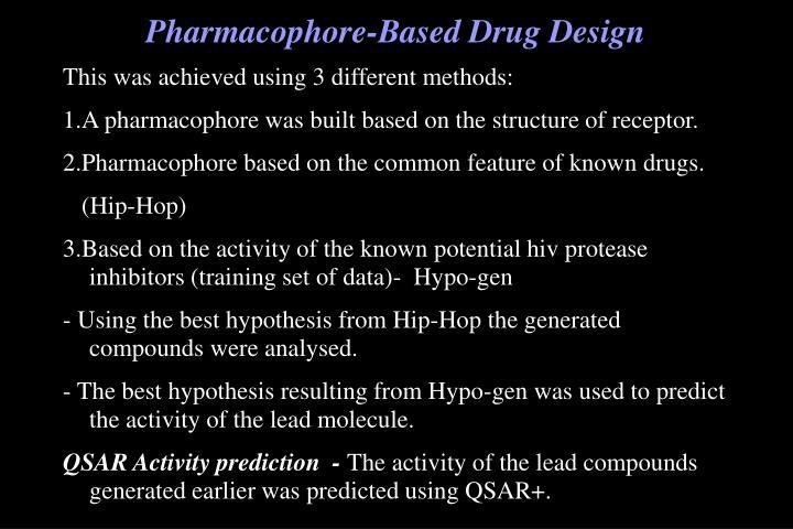 Pharmacophore-Based Drug Design