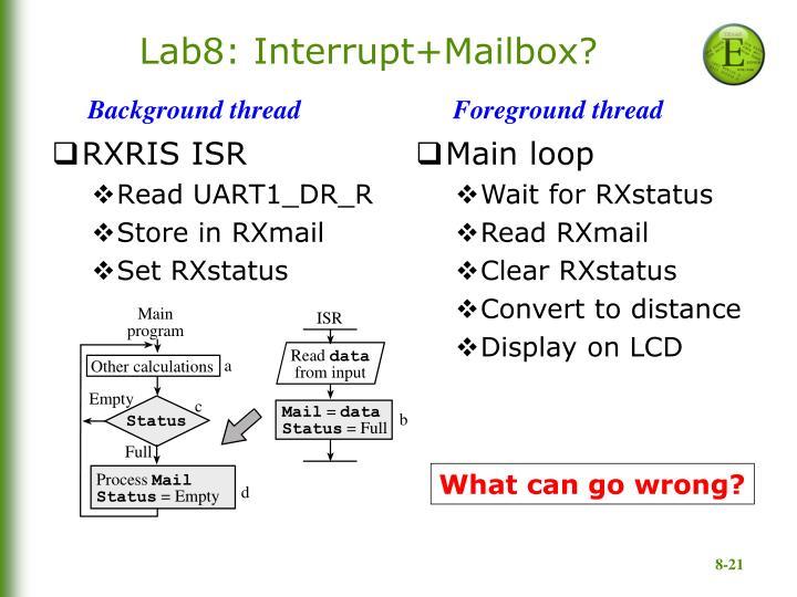 Lab8: Interrupt+Mailbox?