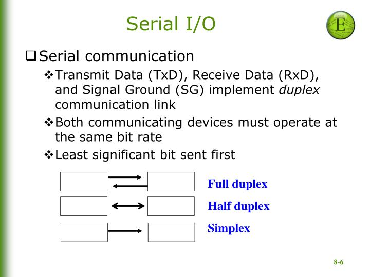 Serial I/O