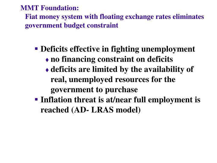MMT Foundation: