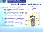 control system architecture