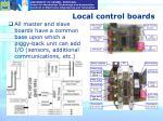 local control boards