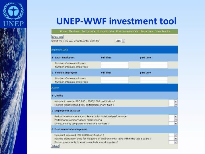 UNEP-WWF