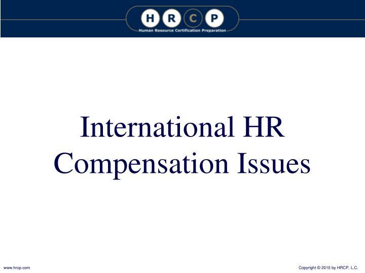 International HR