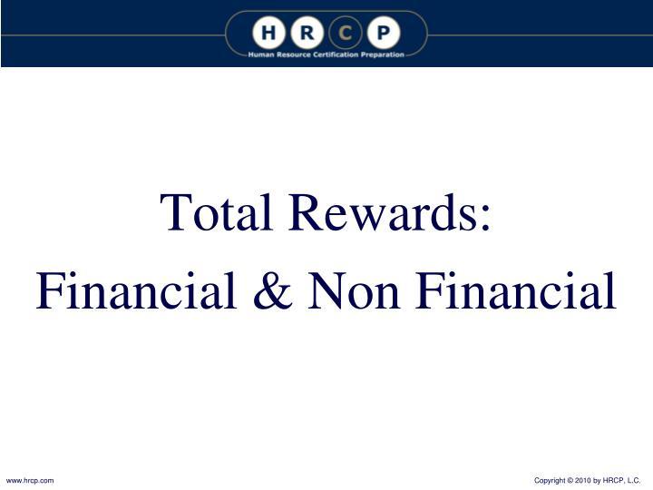 Total Rewards: