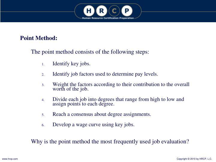 Point Method: