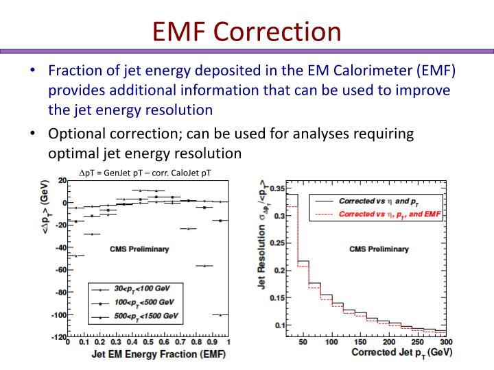 EMF Correction
