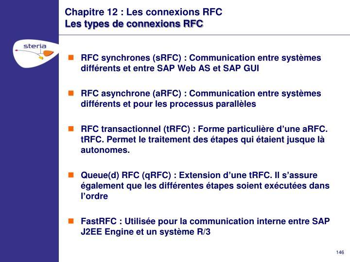 Chapitre 12 : Les connexions RFC
