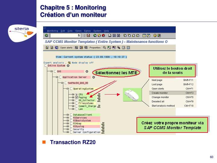 Chapitre 5 : Monitoring