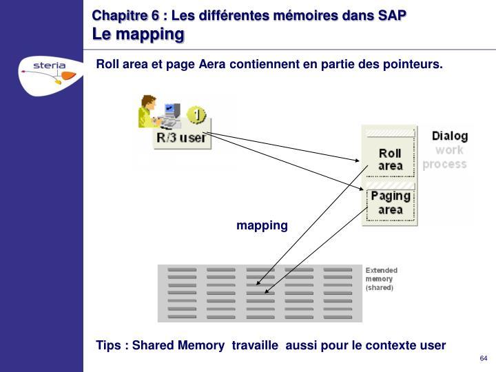 Chapitre 6 : Les différentes mémoires dans SAP