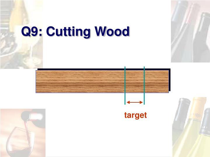 Q9: Cutting Wood