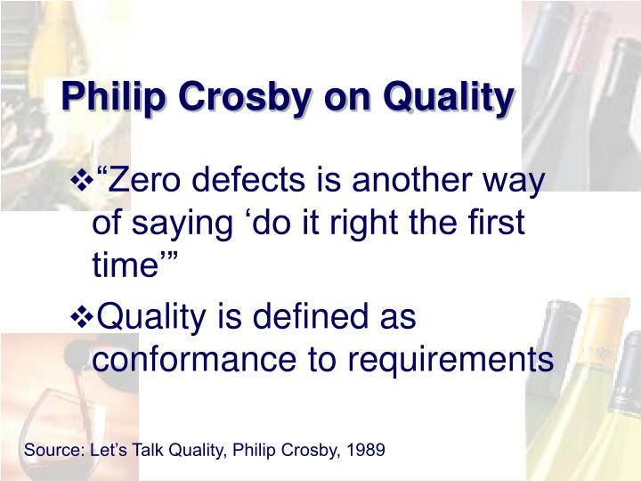 Philip Crosby on Quality