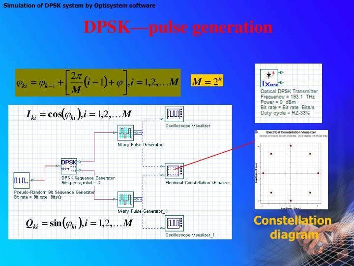 DPSK—pulse generation