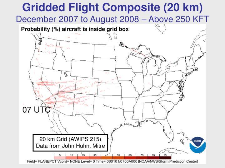 Gridded Flight Composite (20 km)