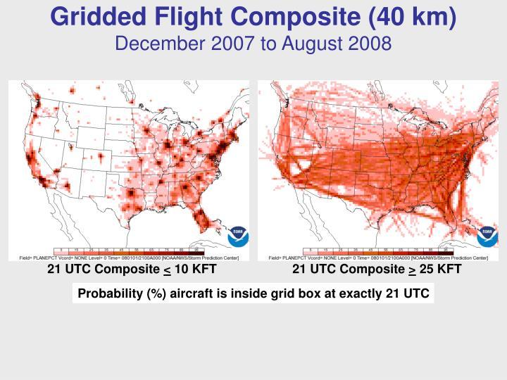 Gridded Flight Composite (40 km)