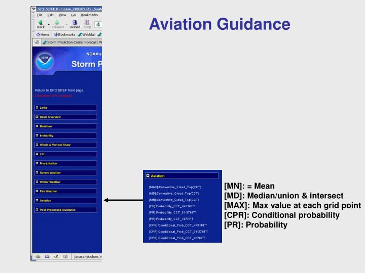 Aviation Guidance