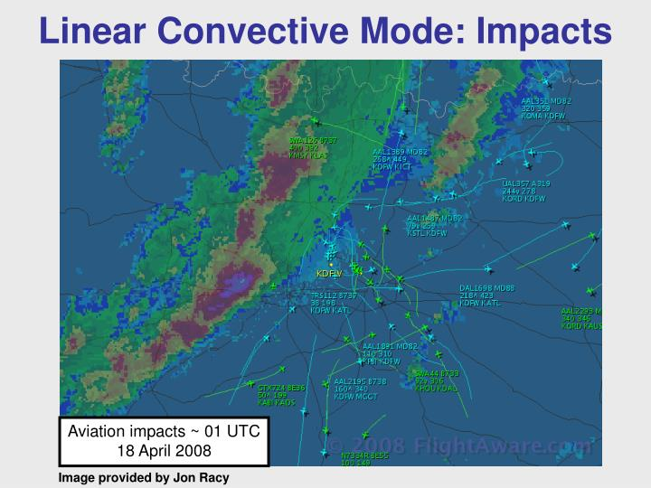 Linear Convective Mode: Impacts