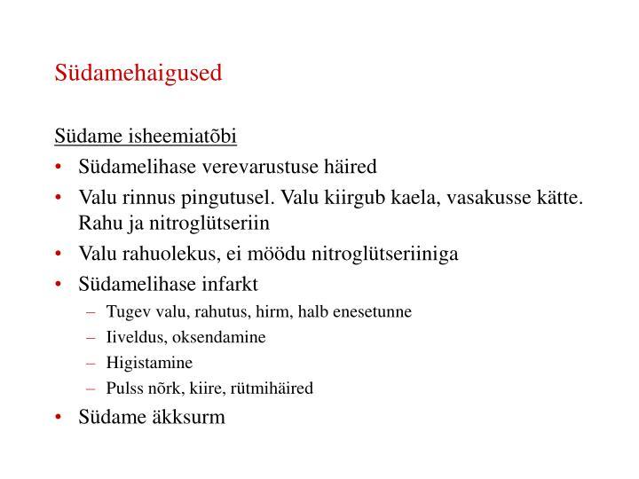 Südamehaigused