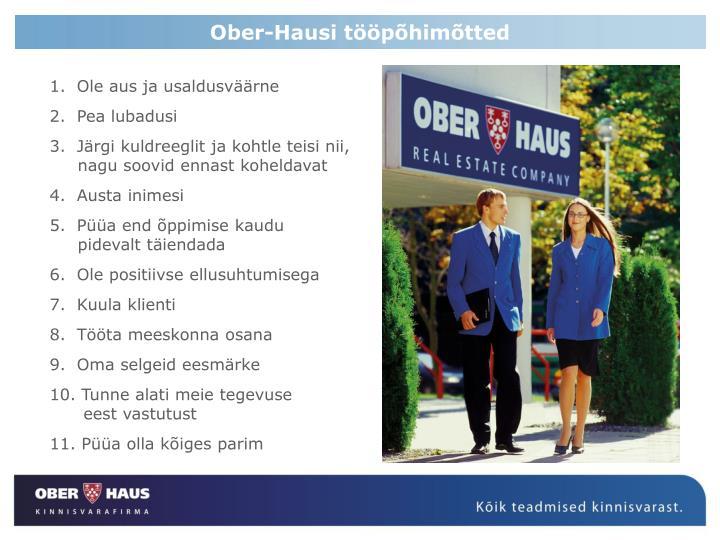 Ober-Hausi tööpõhimõtted