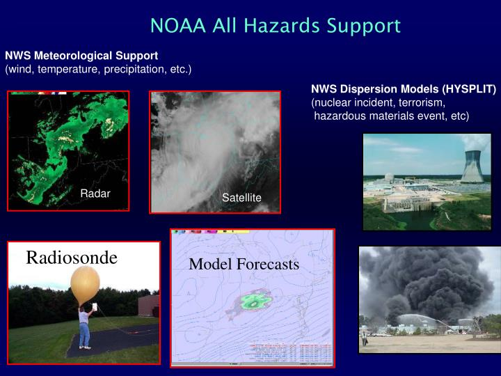 NOAA All Hazards Support