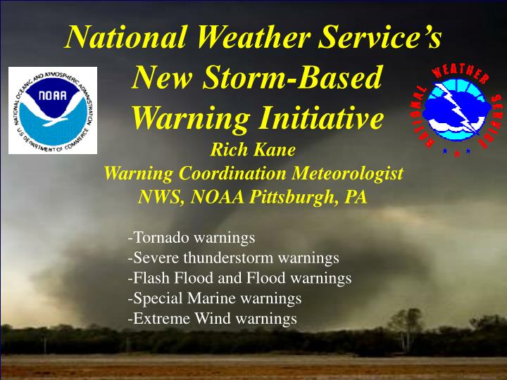 National Weather Service's