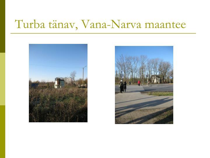 Turba tänav, Vana-Narva maantee