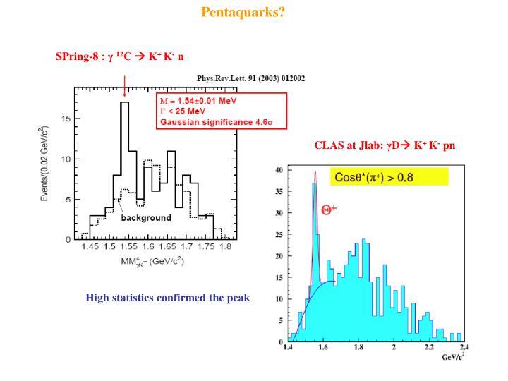 Pentaquarks?