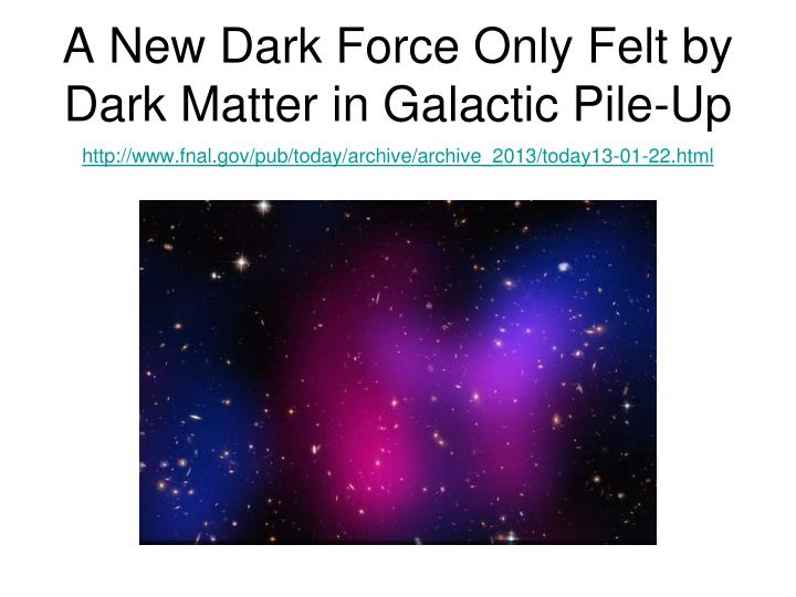 dark matter galactic - photo #32