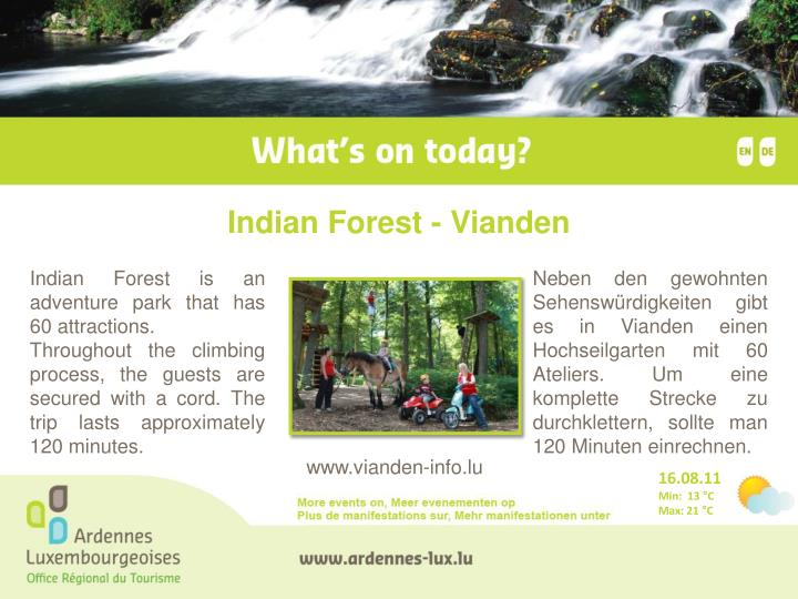 Indian Forest - Vianden