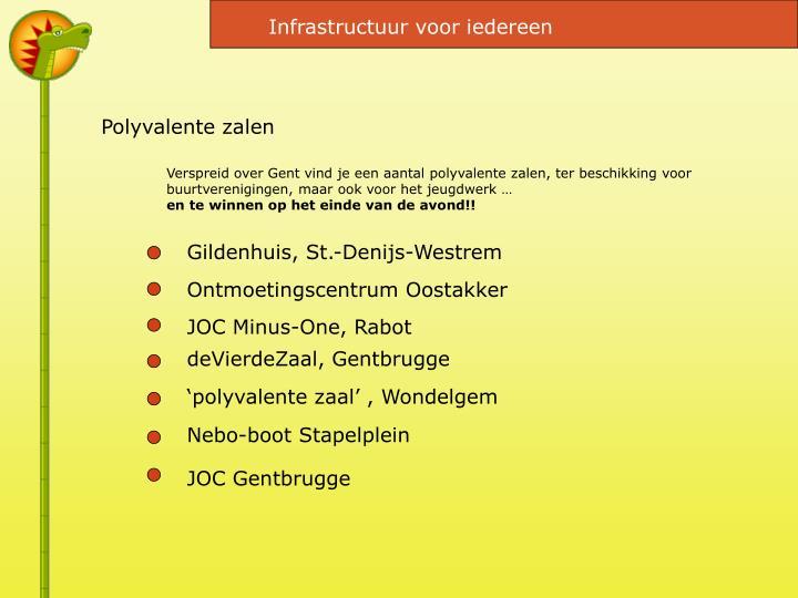 Infrastructuur voor iedereen