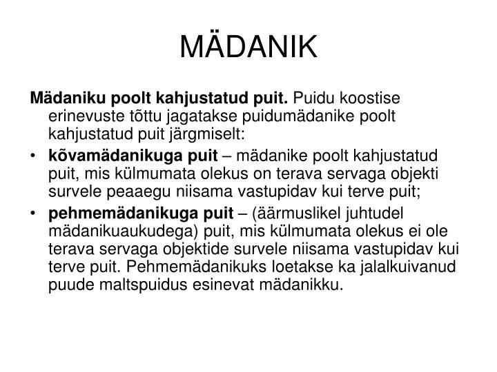 MÄDANIK