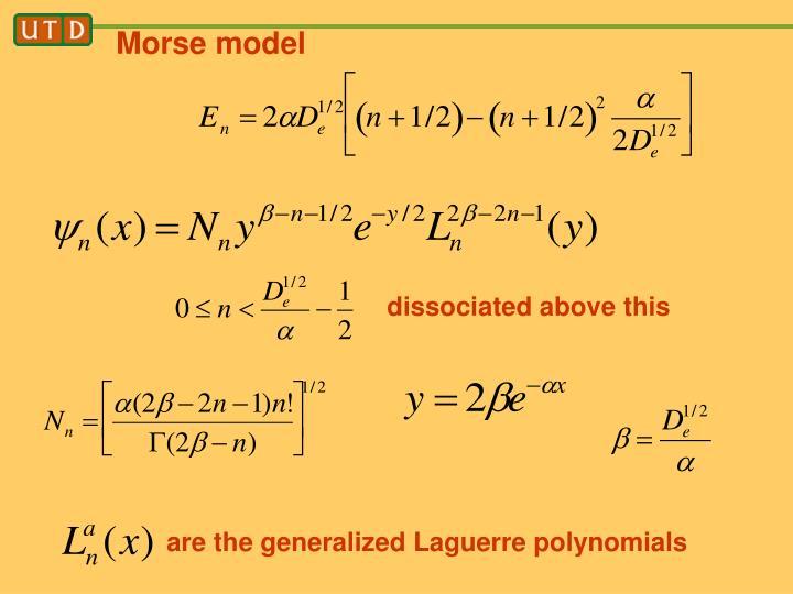 Morse model